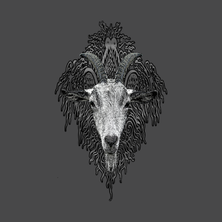 Tribal Goat Ornament t-shirts