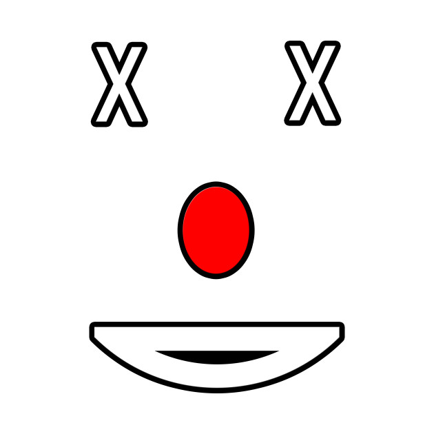 Clownface Emoji Design