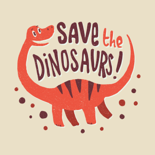 Save the Dinosaurs t-shirts