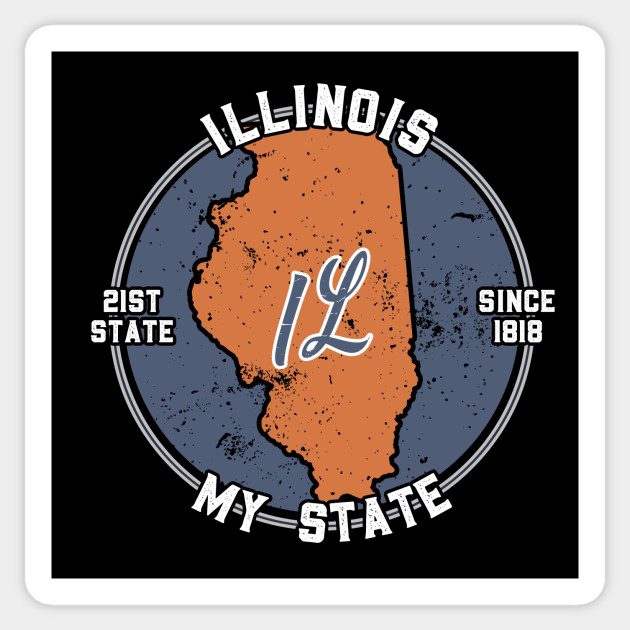Illinois My State Patriot State Tourist Gift