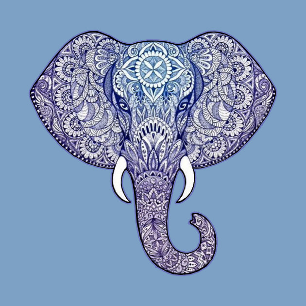 Henna Elephant Art Diwali Festival Kids T Shirt Teepublic