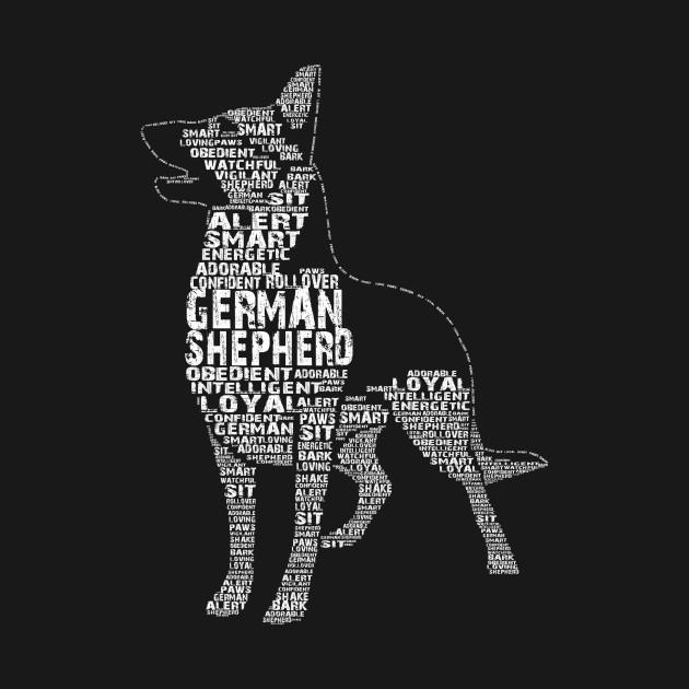 German Shepherd Word Version