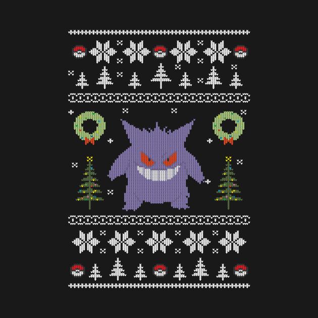 Ugly Christmas Sweater Pokemon - Naughty