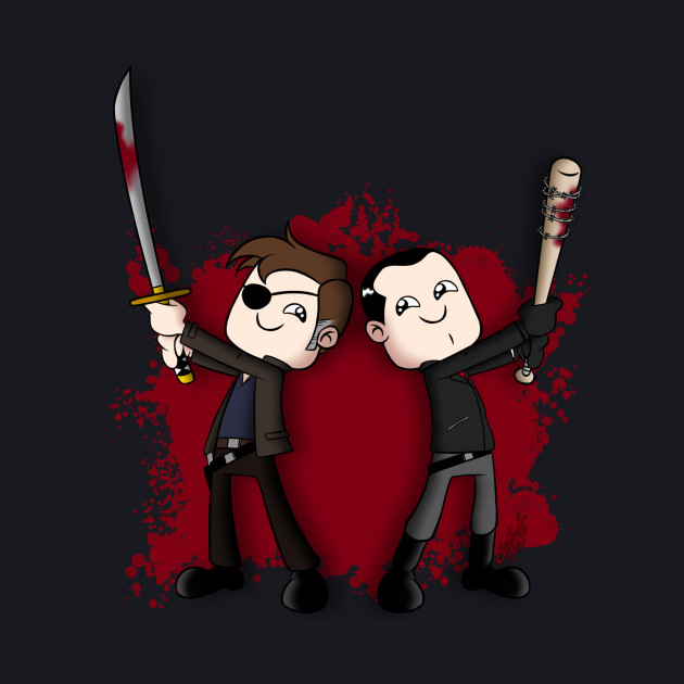 Negan and the Governor