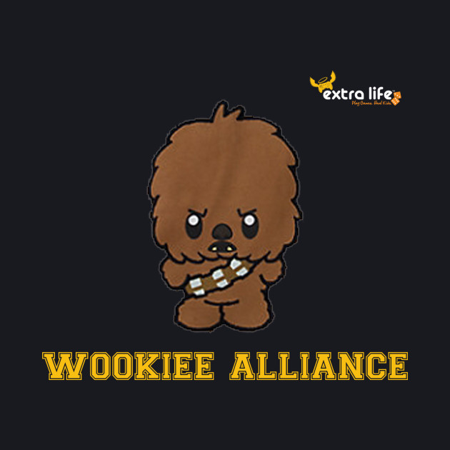 Wookiee Alliance 2017 Orange Text