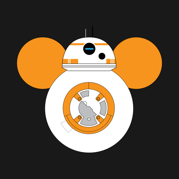 Star Wars BB-8 Mickey Mouse