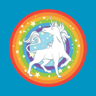 The Sparkliest, Most Fabulous Unicorn of them All t-shirts