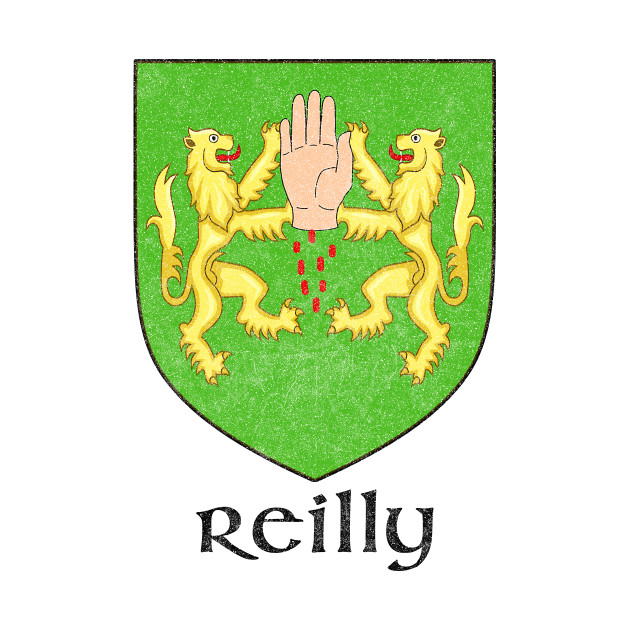 Reilly / Faded Style Family Crest Design