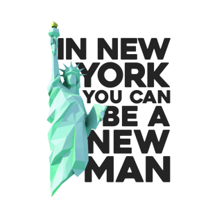 in new york you can be a new man