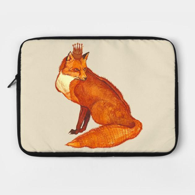 Fox in crown