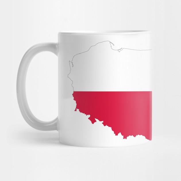 LIMITED EDITION. Exclusive Poland Map Flag - Poland Map Flag - Mug ...