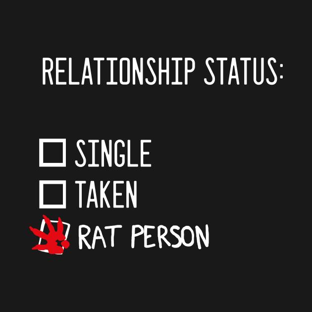 Relationship status: rat person