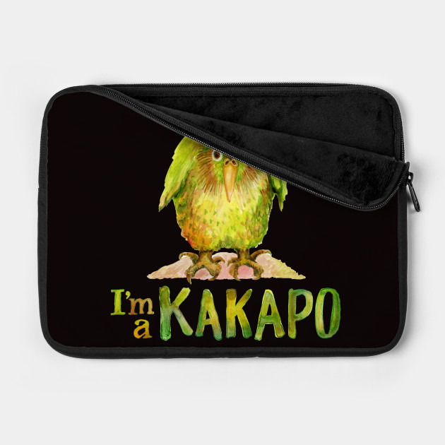 I'm a KAKAPO (caca-poo)