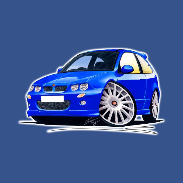MG ZR Blue