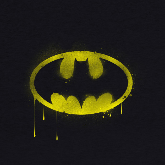 Batman Spray Paint