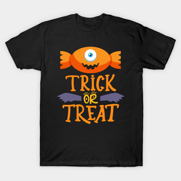 Candy Trick or Treat Funny Cute Halloween Candy boys Gift T-Shirt