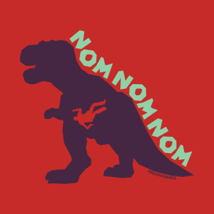 T-Rex NOMNOMNOM Light t-shirts