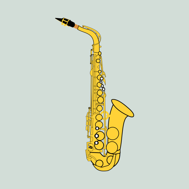 LIMITED EDITION. Exclusive Alto Saxophone - Alto Saxophone - T-Shirt ...