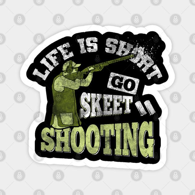 clay pigeon shooting slogan throwing target gift