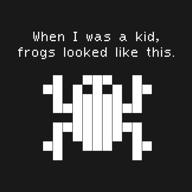 Funny 80s Arcade Game Design