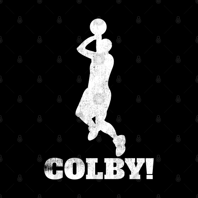 Colby Basketball Shot