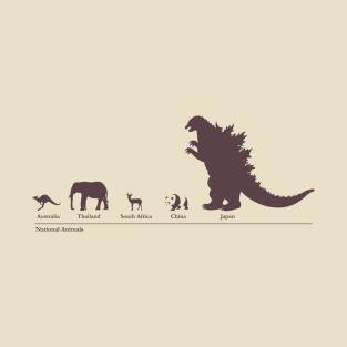 National Animals t-shirts