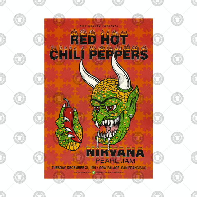 Red Hot Chili Peppers Nirvana Pearl Jam Devil