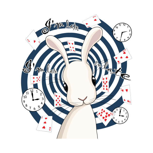 White Rabbit In Wonderland