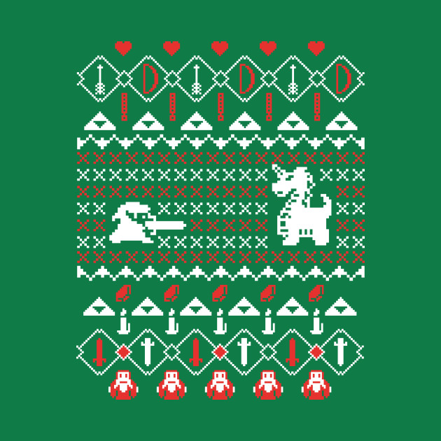 Its Dangerous To Go Alone At Christmas - Ugly Sweater, Christmas Sweater & Holiday Sweater