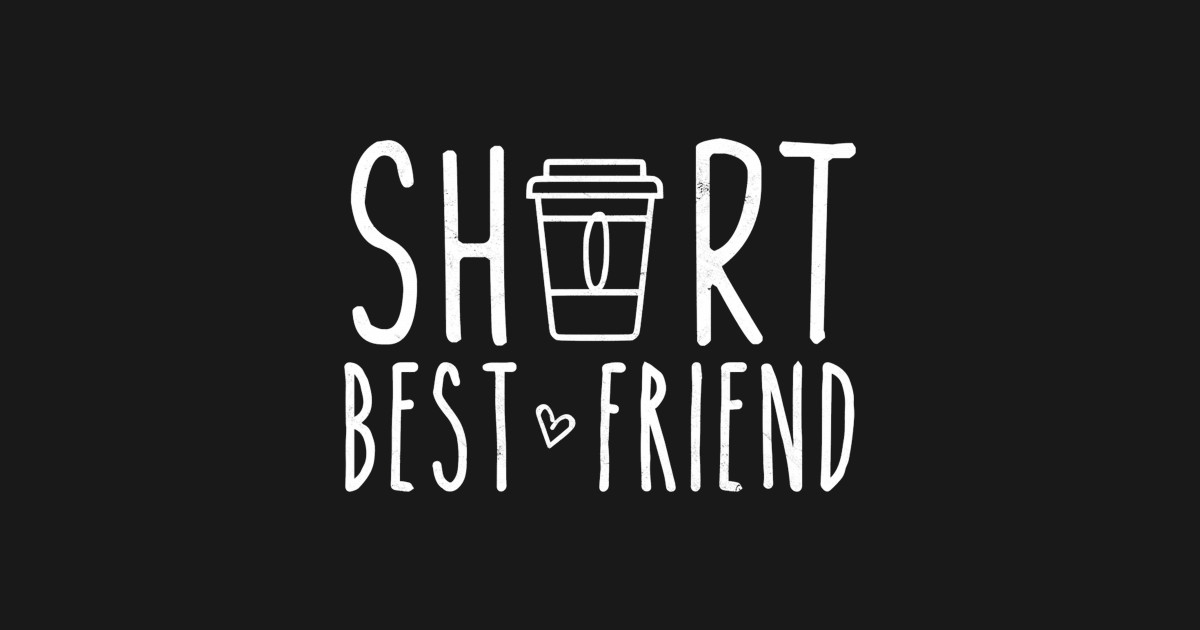 Short Best Friend Quote Friendship Gift For 2 Matching BFF Pullover Hoodie  by kwyzcx