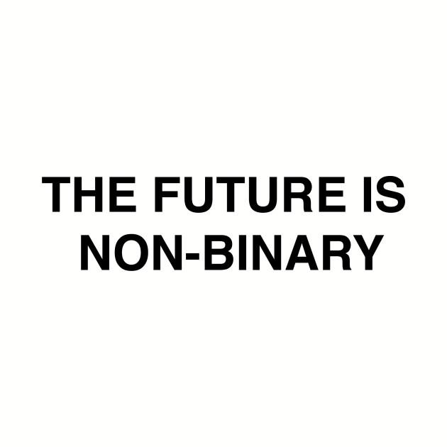 The Future is Non-Binary - NB Pride shirt