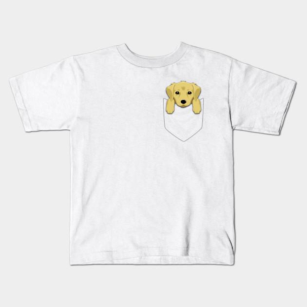 d107984dbe ... shirt; funny golden retriever in your pocket golden retriever kids t ...