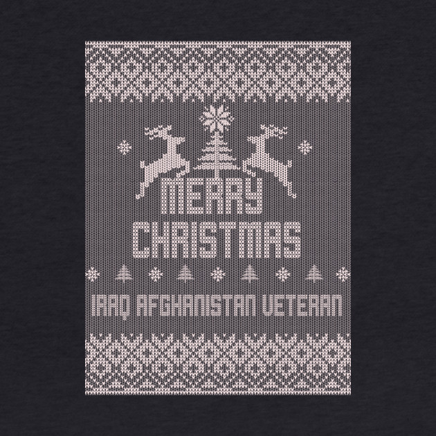 Merry Christmas Iraq Afghanistan Veteran