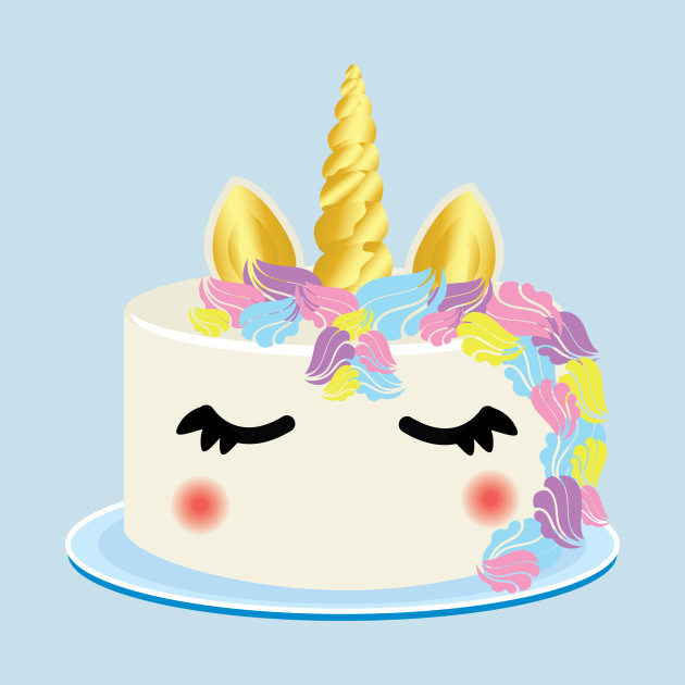 Unicorn Cakes: Unicorn Cake Cartoon