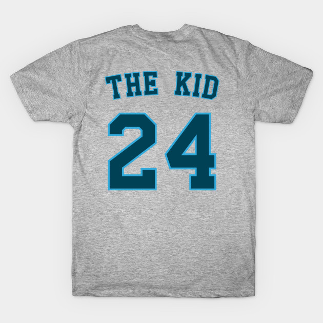 super popular 5acf9 63f25 Ken Griffey Jr. - The Kid - Baseball Nickname Jersey