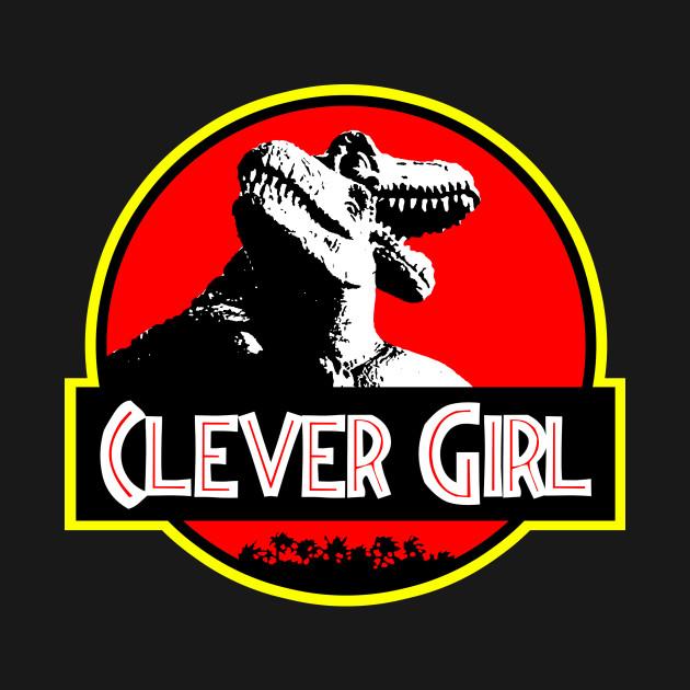 Clever Girl: Clever Girl - Jurrasic Park - T-Shirt