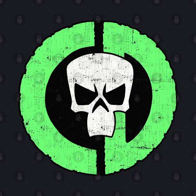 Council of Doom CD Skull Logo (Color, Distressed)