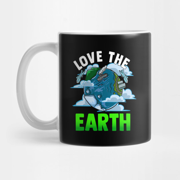 Love The Earth Hipster Cute Hippie Mother Earth Hippy Mug