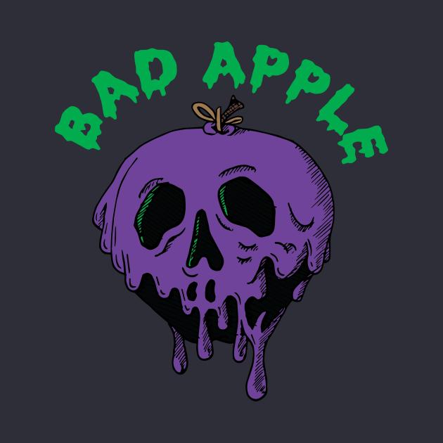 Snow Whites Poisoned Apple Purple + Black
