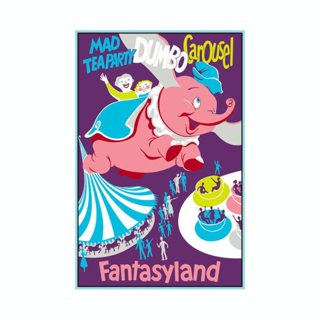 Fantasyland Attraction Poster