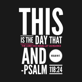 Bible Verse Of The Day T-Shirts | TeePublic