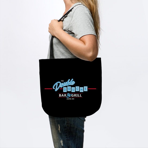 Double Douche Bar Grill Roadhouse Tote Teepublic