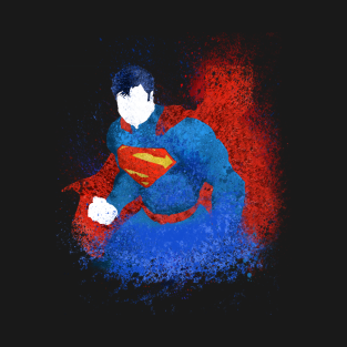 SuperMan Splash Art t-shirts