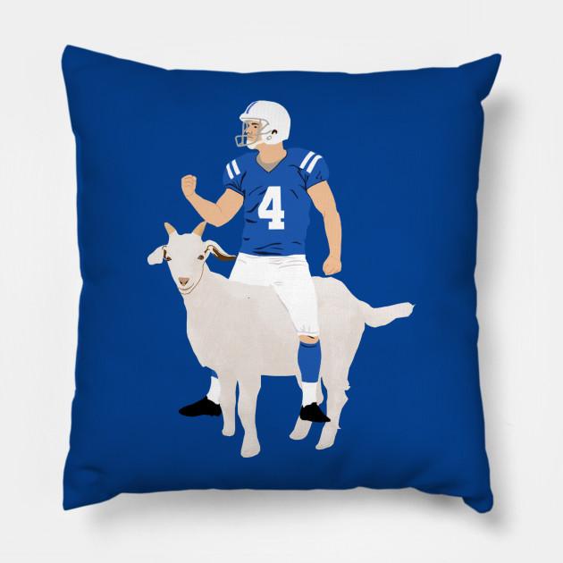 Vinny Goat - Adam Vinatieri - Pillow  40bb1fc34