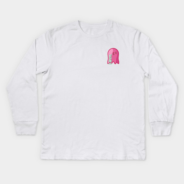 15be4ccf Ghost #3 - Pacman - Kids Long Sleeve T-Shirt | TeePublic