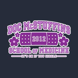 Doc McStuffins School of Medicine t-shirts