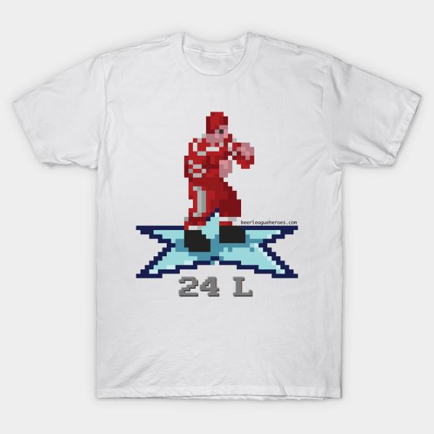 97739907 16-Bit Legend: Bob Probert (Red Wings) - Detroit Red Wings - T-Shirt ...