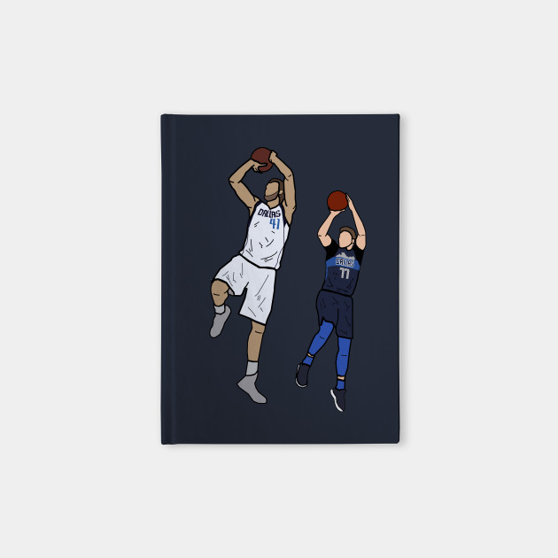 official photos 94a7d 304c1 Dirk Nowitzki x Luka Doncic Signature One Leg Fadeaway - Dallas Mavericks