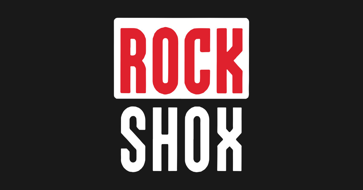New Rock Shox Logo Moutain Mtb Bike Bicycle T-Shirts by maxmitchell12