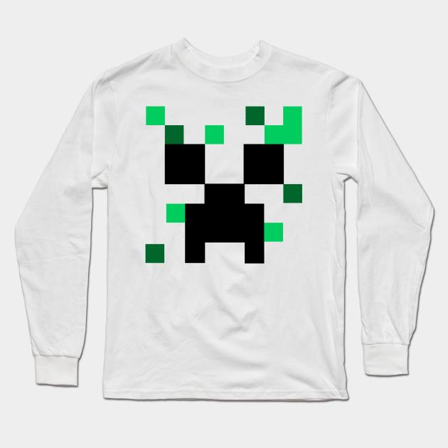 Minecraft Creeper Minecraft Long Sleeve T Shirt Teepublic